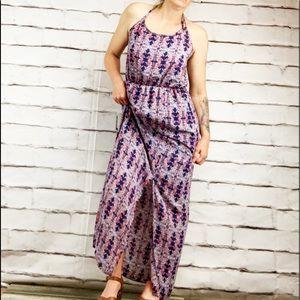 {Le Lis} lined maxi dress